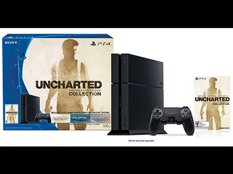 The Unboxing Ps4 Uncharted Nathan Drakes Collection Bundle