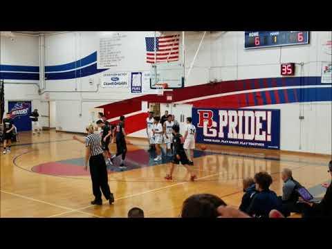 Troy vs Villa Park High School JV Basketball 12-04-2017 1stQ