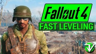 FALLOUT 4 How To Level Up REALLY FAST in Fallout 4 Idiot Savant and Intelligence