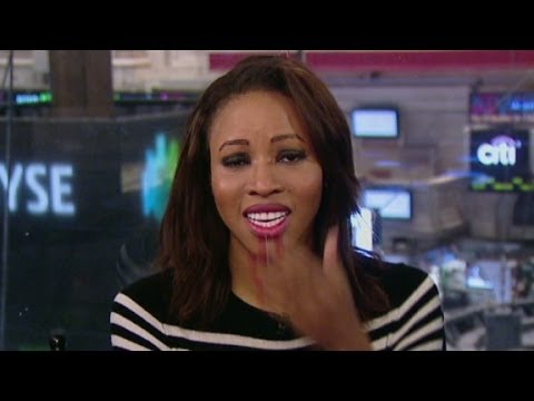 Watch CNN's British Finance Reporter, Zain Asher, Cry During Broadcast