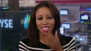 Zain Asher gets emotional reporting on Brothers Oscars nomination