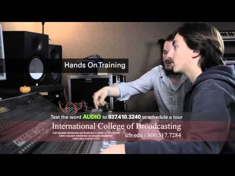International College of Broadcasting's Recording and Audio Engineering Degree Program