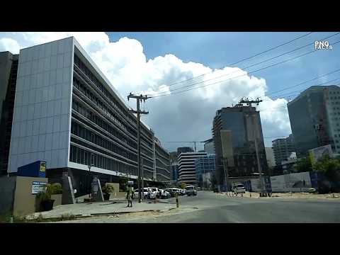 Modern Downtown Port Moresby , PNG