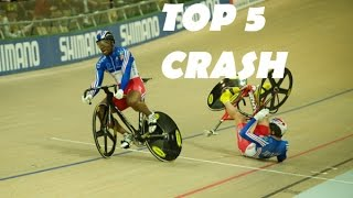Top 5 Cycling Track Crash