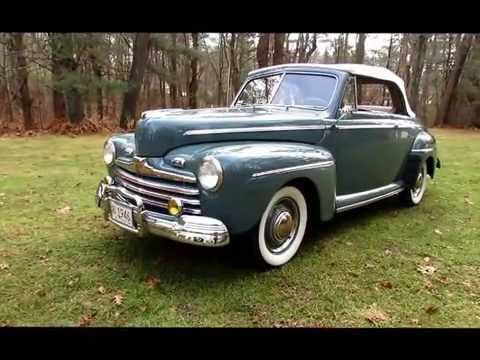 1946 ford super deluxe convertible for sale youtube. Black Bedroom Furniture Sets. Home Design Ideas