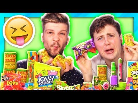 WORLD'S SOUREST CANDY PUT TO THE TEST! *Toxic Waste, Warheads*
