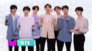 BTS Message to Their Fans | Radio Disney Music Awards