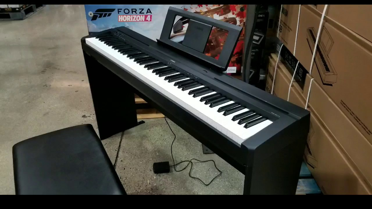 Yamaha P45 Digital Piano Costco : costco yamaha p45 blb2 88 key digital piano 499 youtube ~ Russianpoet.info Haus und Dekorationen