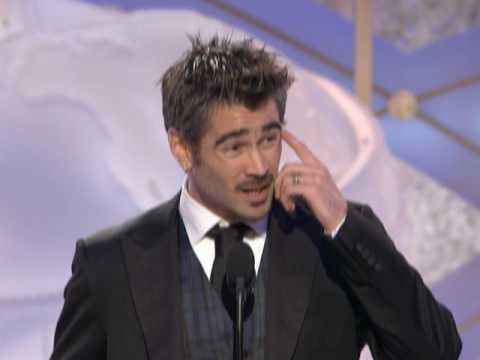 Total Recall's Colin Farrell Wins Best Actor Motion Picture Musical or Comedy - Golden Globes 2009