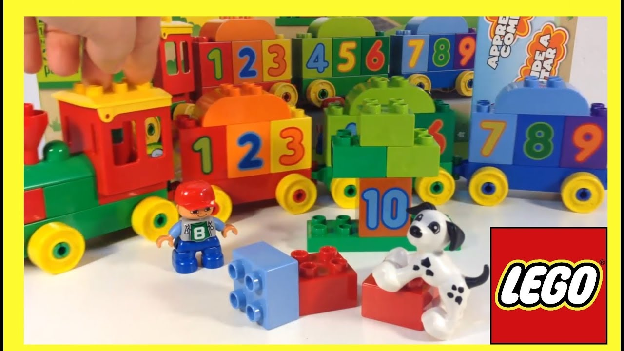 Lego Duplo Number Train Learn to Count 10558 - Unboxing ...   What Are Duplos