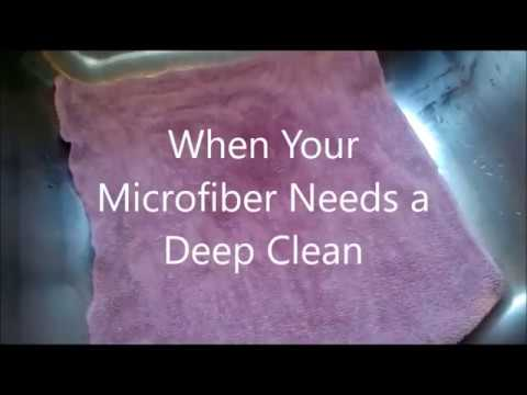 How to Deep Clean your Norwex Microfiber