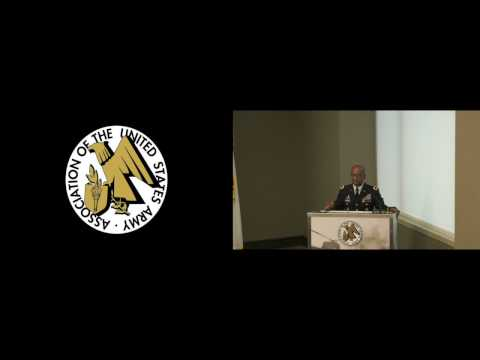 2017 Army Contracts Hot Topic - Maj. Gen. James Simpson, CG, Army Contracting Cmd
