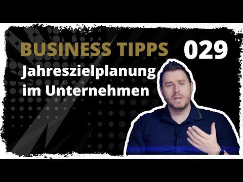 business tipps #029: Jahreszielplanung im Unternehmen