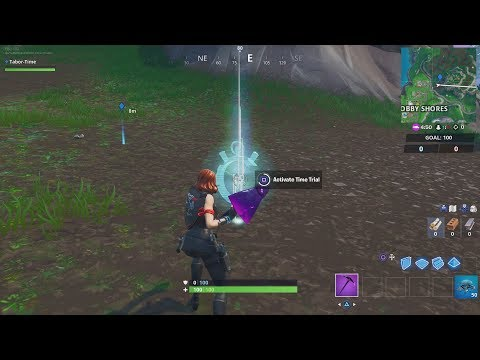 How To Complete a time trial North of Lucky Landing or East of Snobby Shores (Storm Racers Prestige)