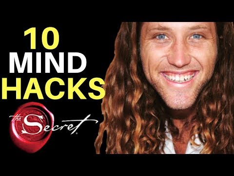 10 Mind Hacks To Rewire Your Subconscious EASILY | The Law of Attraction (PRACTICAL GUIDE)