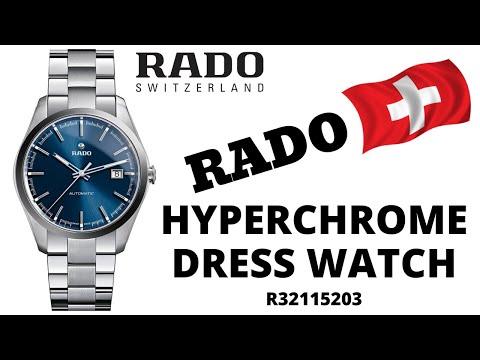 Rado HyperChrome Men's Dress Watch R32115203 (Blue Dial)