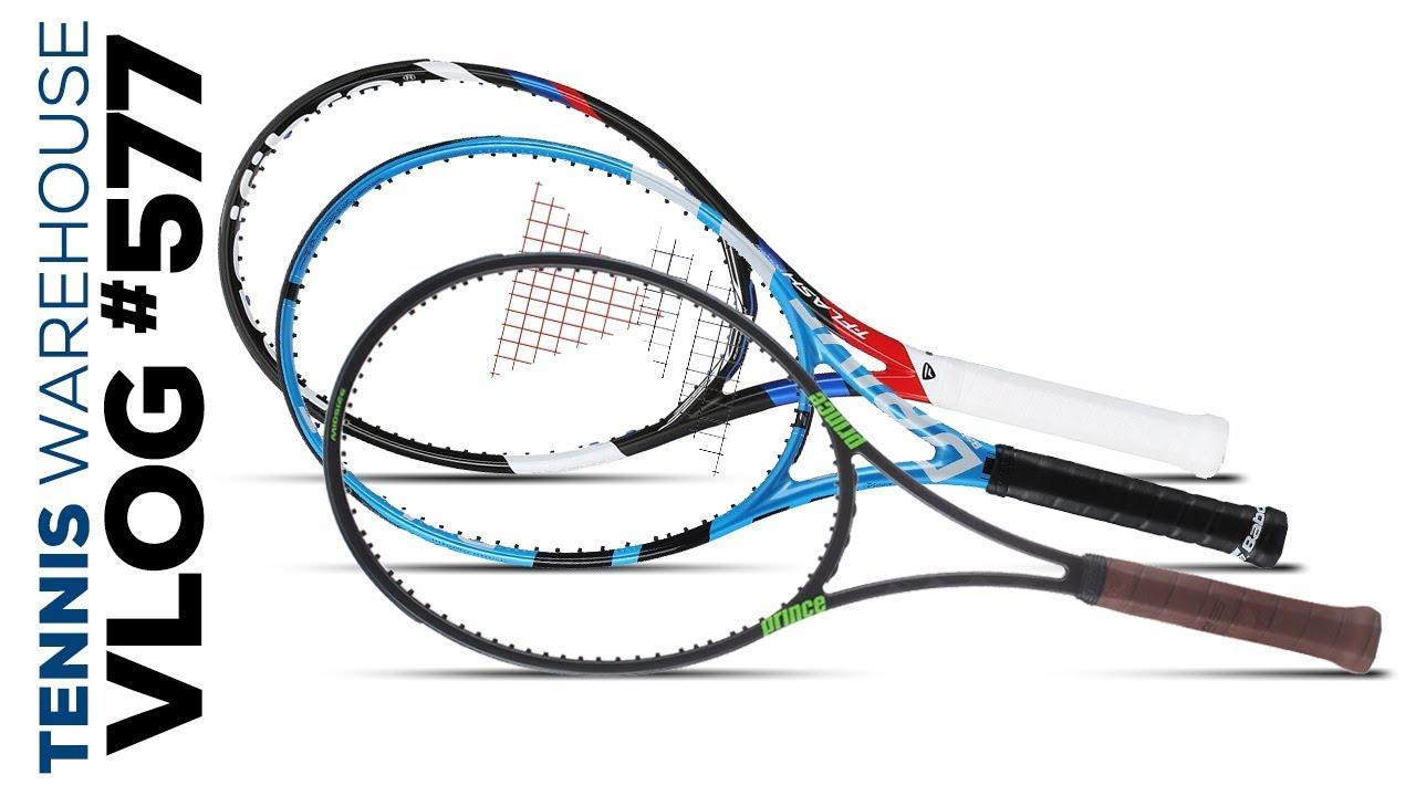 Power   Control in Racquets -- VLOG  577 - YouTube 2f9dda3343abf