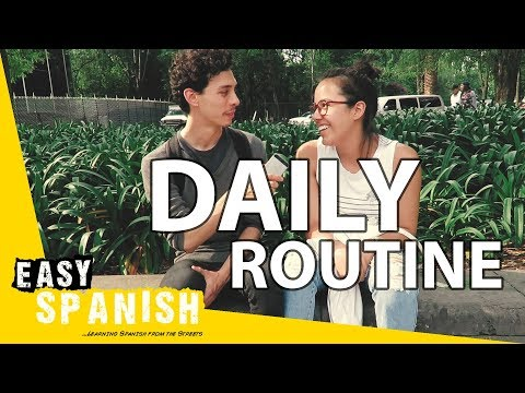 Daily routine | Easy Spanish 60
