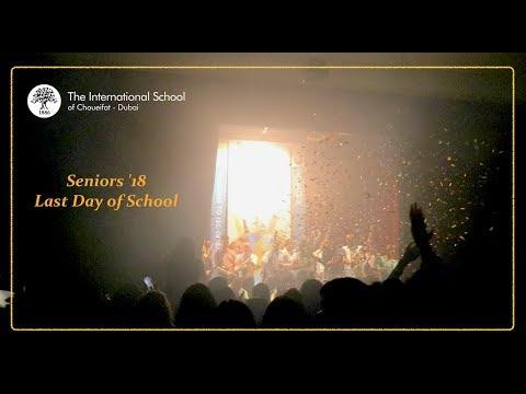 SENIOR'S 18 LAST DAY OF SCHOOL