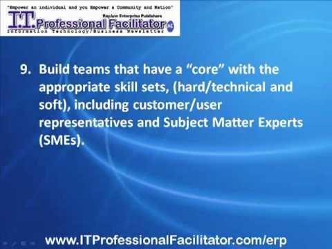 ERP Implementation Success- Enterprise Resource Planning Proven Best Practices