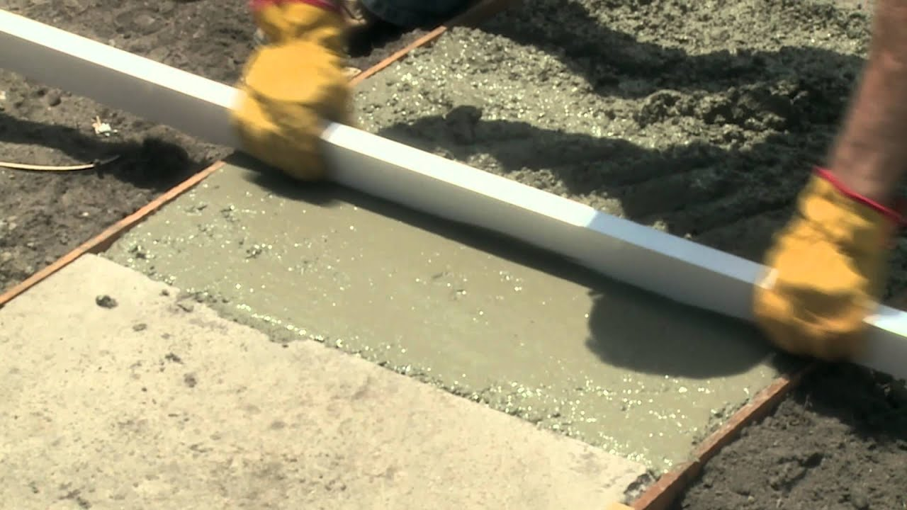 How To Level Concrete Diy At Bunnings
