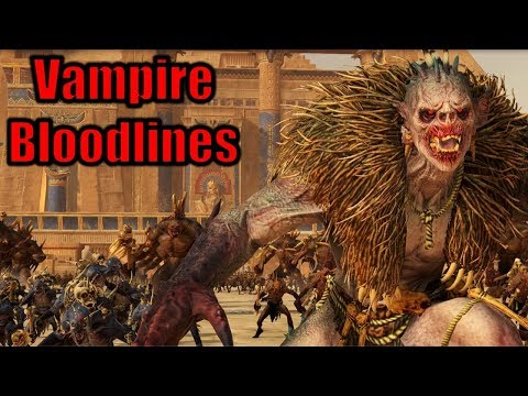 New Vampire Counts Bloodlines Skill Trees + Abilities Overview - Total War Warhammer 2 Vampire Coast