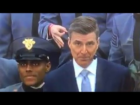 Was that a 'White Power' symbol at the Army-Navy game ...