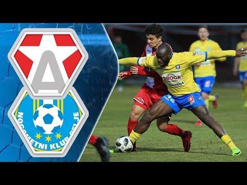 22. krog: Aluminij - Celje 1:2 ; Prva liga Telekom Slovenije 2017/2018