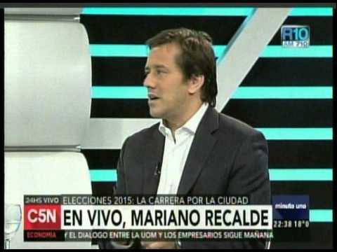C5N - MINUTO UNO: ENTREVISTA A MARIANO RECALDE