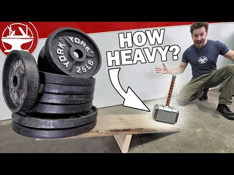Tungsten Thor's Hammer (World's HEAVIEST)