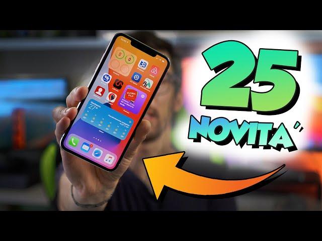 25 NOVITA' SEGRETE di iOS 14!
