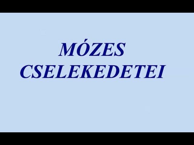 Mózes cselekedetei