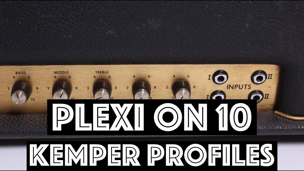 Plexi on 10 Kemper Profiles!! - Free from Tone Junkie