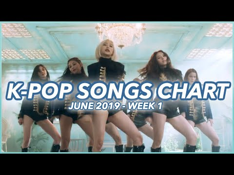 TOP 100 K-POP SONGS CHART  JUNE 2019 WEEK 1