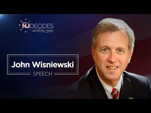 LIVE: John Wisniewski primary night speech