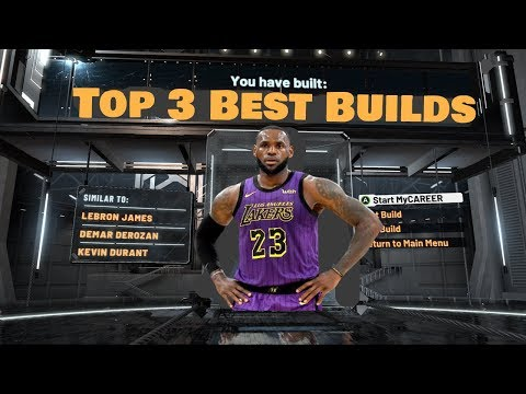 Top 3 Best Builds in NBA 2K20! Most Overpowered Builds in NB