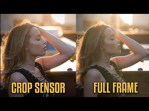Full frame vs Crop sensor |  A REAL WORLD COMPARISON!