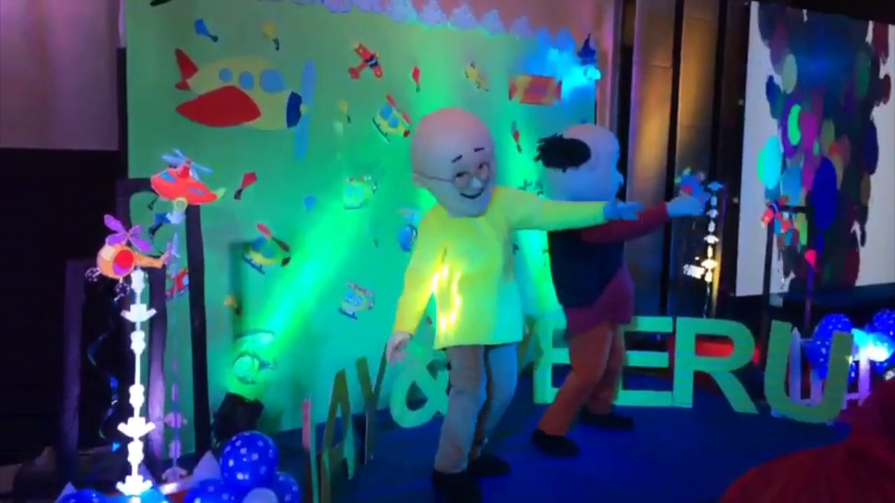 Motu Patlu Dance on Selibesan Birthday Party In Jaipur YouTube