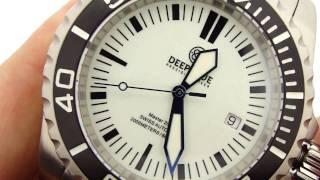 Deep Blue Master 2000 II Lume Dial Watch