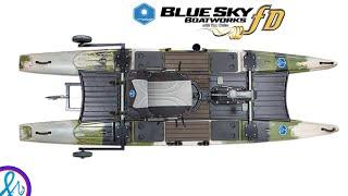 Blue Sky Boatworks 360 Angler Catamaran Hybrid Kayak iCAST 2018