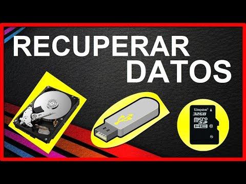 Cómo RECUPERAR Archivos Borrados De Memoria USB, Micro SD, Disco Duro