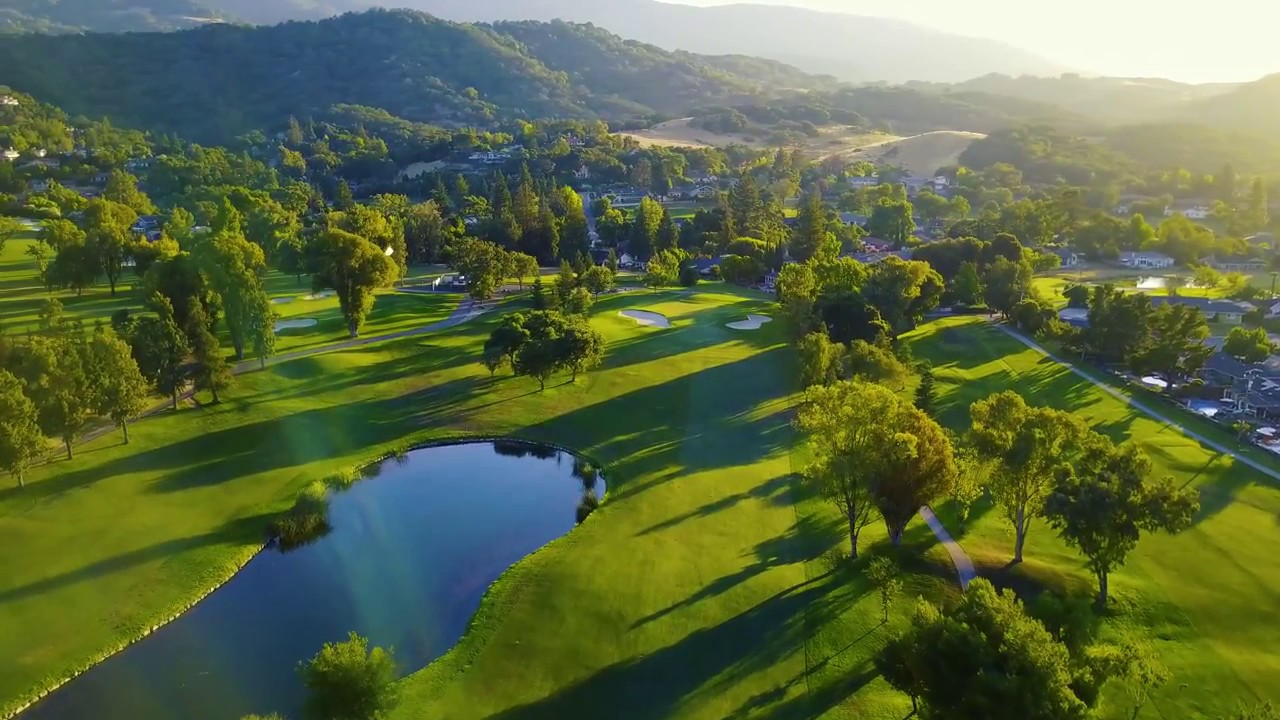 Almaden Country Club in 4k