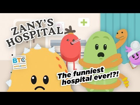 Zany's Hospital Dumb Ways Jr App for Kids