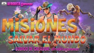 FORTNITE, MISSIONS, GOLD,PE, BILLETES, COFRES, etc... (SAVE THE WORLD)