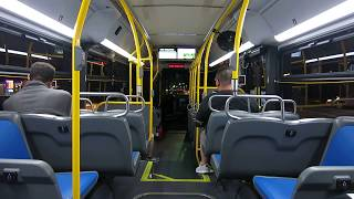 "MTA New York City Bus : On-Board 2018 New Flyer XD40 ""Xcelsior"" 7488 On The Q17 Limited"
