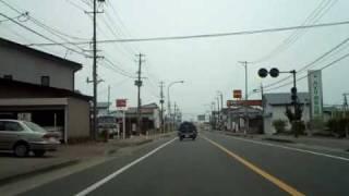 運転車窓動画 新潟→会津若松(7/9) 会津坂下→宮古橋