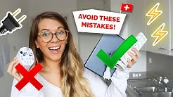 SWITZERLAND | Which Adapter Do I Need? Electricity & Plugs Explained