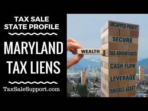 Maryland Tax Lien Certificates: How Tax Sales In MD Work