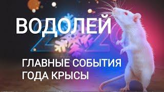 ВОДОЛЕЙ. Главные события года КРЫСЫ (25.01.2020 - 11.02.2021). Точный прогноз.