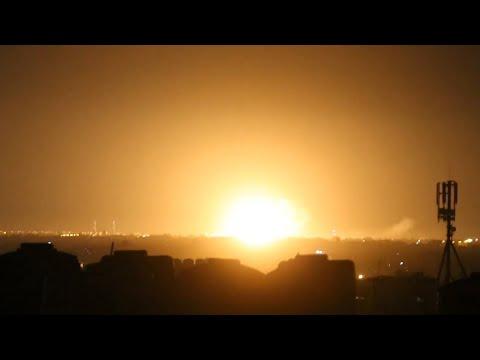 Israel bombs Gaza after rocket attack
